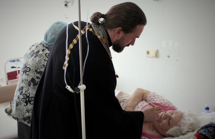 Соборование в больнице