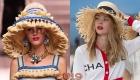 Шляпки от Шанель весна-лето 2019