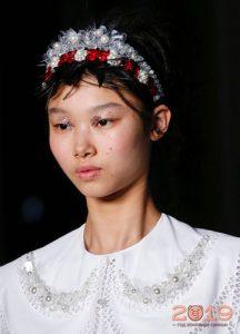 Модные ободки коллекций весна-лето 2019