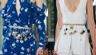 Модные пояса весна-лето 2019