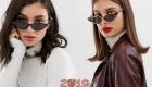 Очки с узкими линзами мода 2019 года