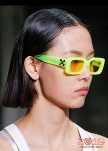 Желтые очки - тренд 2019 года