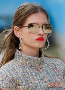 Зеркальные очки - мода 2019 года