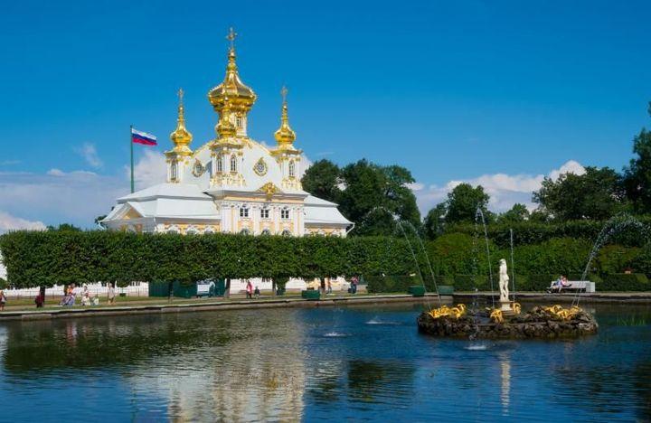Петербург в мае