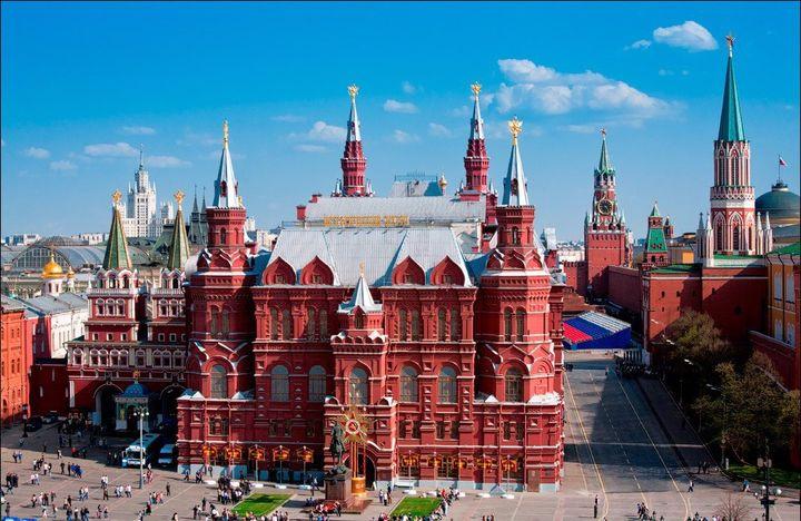 Исторический музей на Красной площади