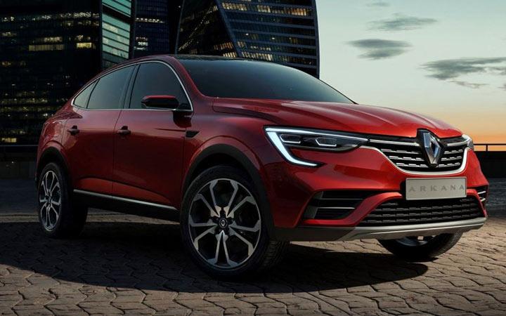 Новый Renault Arkana 2019 года
