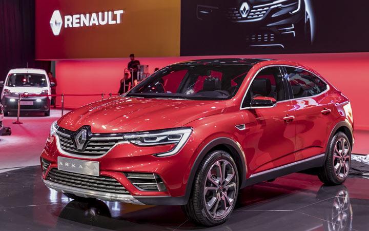 Представлен Renault Arkana 2019 года
