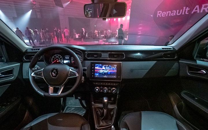 Интерьер Renault Arkana 2019