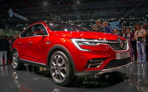 Экстерьер нового Renault Arkana 2019