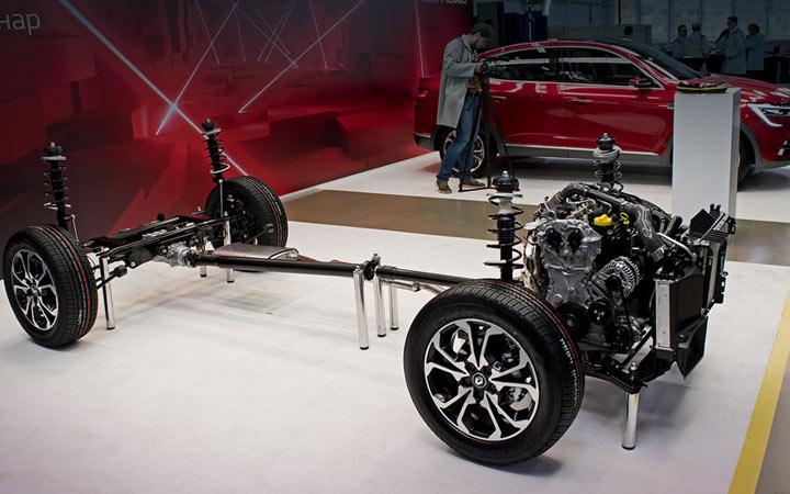 Технические характеристики Renault Arkana 2019