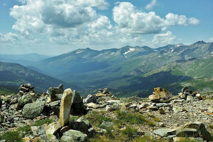 горы Хакассии