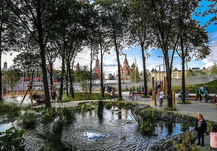 Погода в Москве в августе