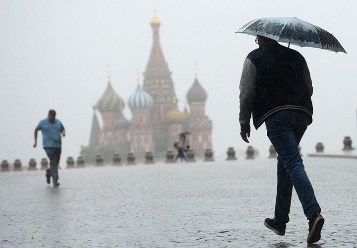 Погода в августе в Москве