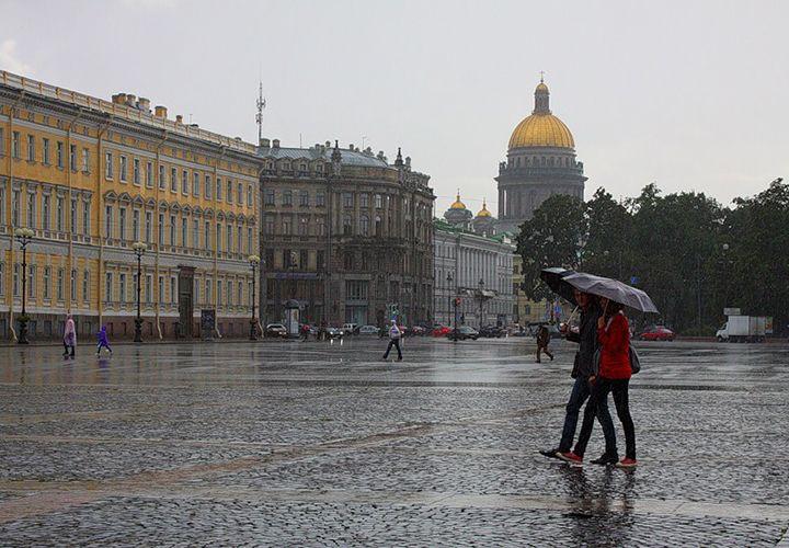 Погода в августе в Санкт-Петербурге
