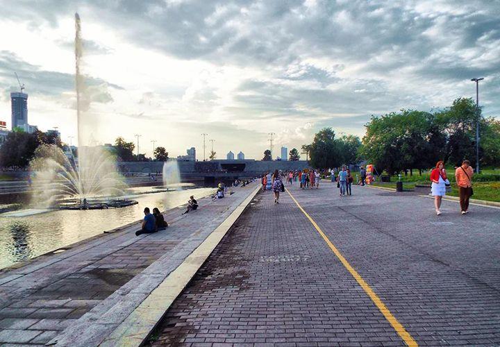 Погода в августе в Екатеринбурге