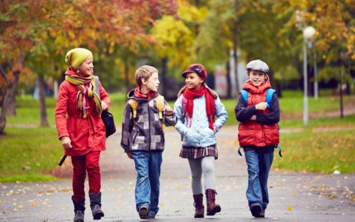 Осенние каникулы в школах России в 2021-2022 году