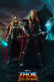 Сюжет фильма 2022 года Тор: Любовь и гром