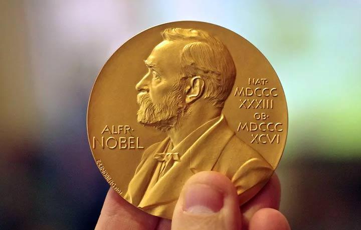 Вручение Нобелевской премии в 2022 году