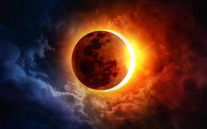 Солнечные затмения в 2022 году