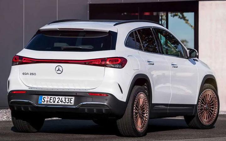 Mercedes EQA и другие новинки кроссоверов 2021-2022 года