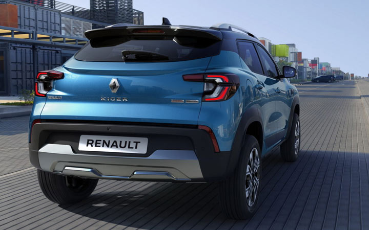 Renault Kiger 2021-2022 года