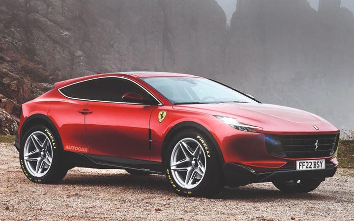 Ferrari Purosangue и другие новинки кроссоверов 2021-2022 года