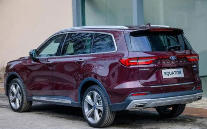 Ford Equator и другие внедорожники 2021-2022 года