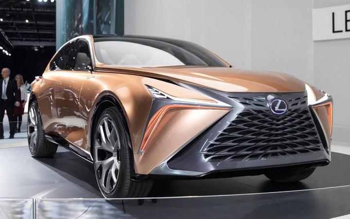Lexus LQ и другие новинки внедорожников 2021-2022 года