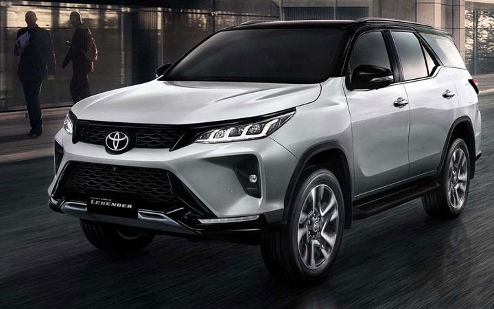 Toyota Fortuner и другие новинки внедорожников 2021-2022 года