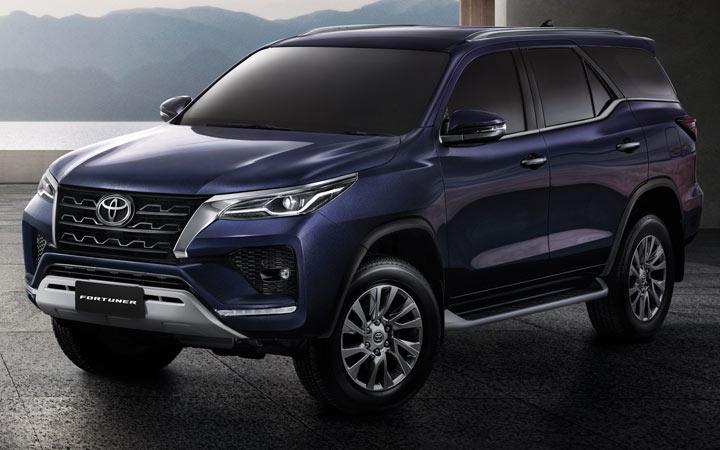 Toyota Fortuner и другие внедорожники 2021-2022 года