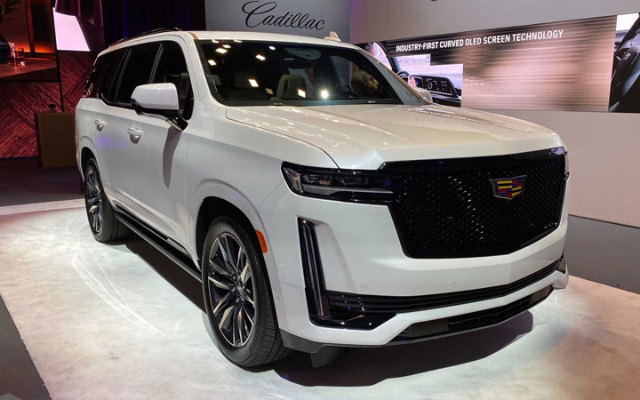 Cadillac Escalade 5 и другие новинки внедорожников