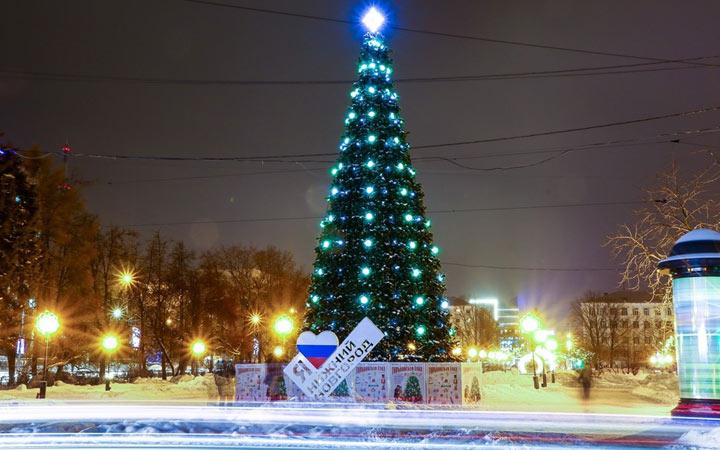 Нижний Новгород - Новогодняя столица России 2022 года
