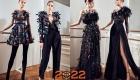 Модели высокой моды - луки на Новый Год 2022