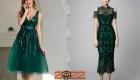 Красивое новогоднее платье на 2022 год