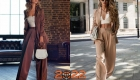 красивый брючный женский костюм на Новый Год 2022
