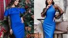 Яркое новогоднее платье на 2022 год