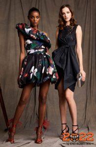 Красивое черное платье на Новый Год 2022