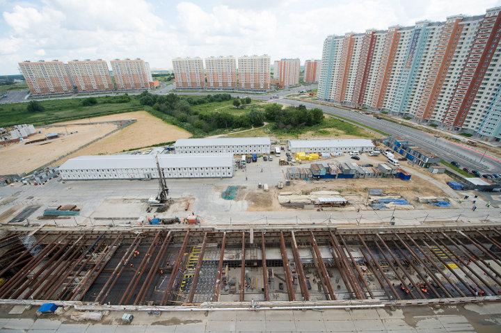 строительство ветки метро
