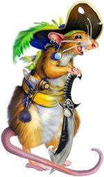 крыса пират