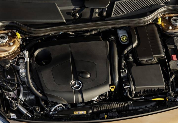 Двигатель Mercedes-Benz GLA 2019