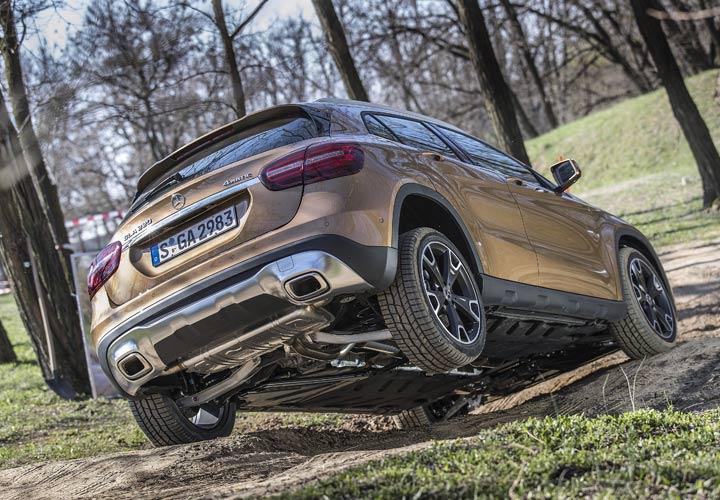 Днище Mercedes-Benz GLA 2019