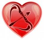знак стрельца в сердце