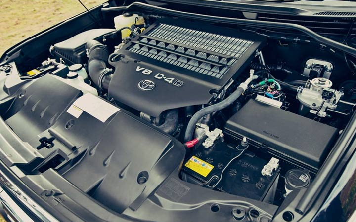 Двигатель Toyota Land Cruiser Prado