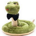 змея с галстуком-бабочкой
