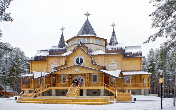 Реальный дом Деда Мороза