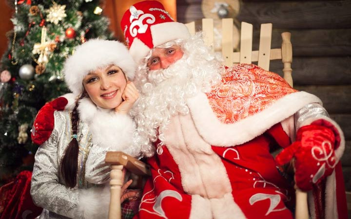 Дед Мороз и Снегоурочка 2019