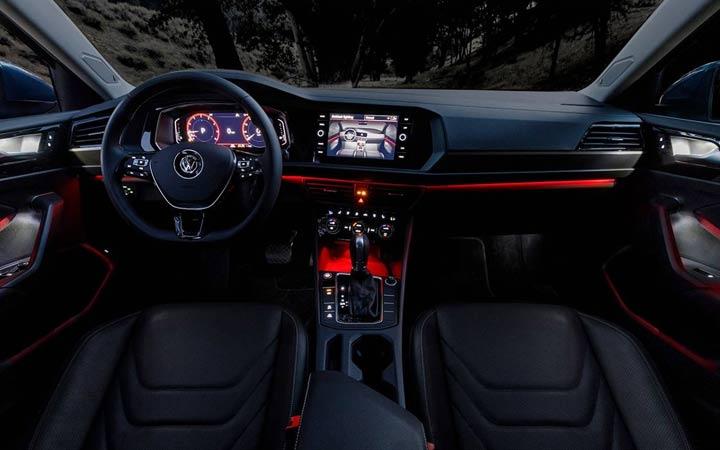 Подсветка салона Volkswagen Jetta 2019