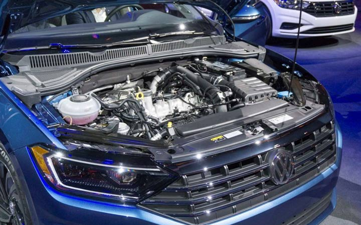 Двигатель Volkswagen Jetta 2019