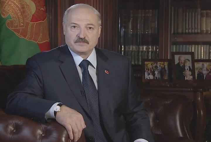 Новогоднее поздравление Лукашенко