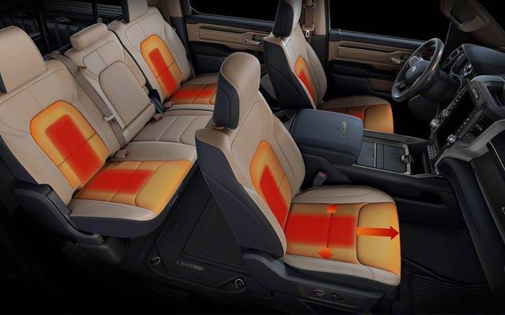 Салон Dodge Ram 2019 года